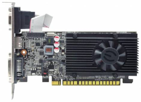 Видеокарта EVGA GeForce GT 610 (810МГц, GDDR3 1024Мб 1000МГц 64 бит)