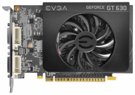Видеокарта EVGA GeForce GT 630 (810МГц, GDDR3 2048Мб 1400МГц 128 бит)