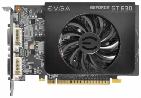 Видеокарта EVGA GeForce GT 630 (810МГц, GDDR3 1024Мб 1600МГц 128 бит)