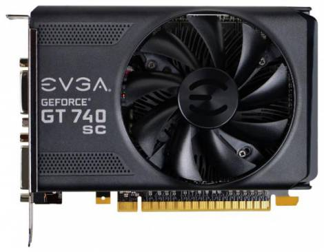 Видеокарта EVGA GeForce GT 740 (1085МГц, GDDR5 2048Мб 5000МГц 128 бит)