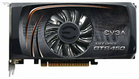Видеокарта EVGA GeForce GTS 450 (822МГц, GDDR5 1024Мб 3608МГц 128 бит)
