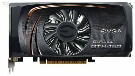 Видеокарта EVGA GeForce GTS 450 (882МГц, GDDR5 1024Мб 3800МГц 128 бит)