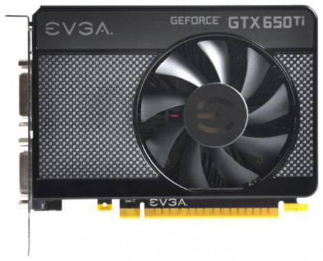 Видеокарта EVGA GeForce GTX 650 Ti (1071МГц, GDDR5 1024Мб 5400МГц 128 бит)