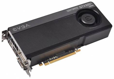 Видеокарта EVGA GeForce GTX 650 Ti Boost (980МГц, GDDR5 2048Мб 6008МГц 192 бит)