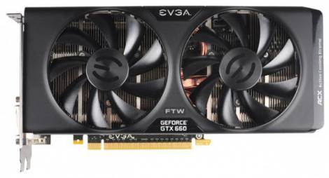 Видеокарта EVGA GeForce GTX 660 (1072МГц, GDDR5 2048Мб 6008МГц 192 бит)
