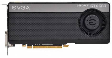 Видеокарта EVGA GeForce GTX 660 (1072МГц, GDDR5 3072Мб 6008МГц 192 бит)