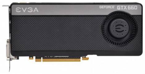 Видеокарта EVGA GeForce GTX 660 (1072МГц, GDDR5 2048Мб 6008МГц 192 бит)