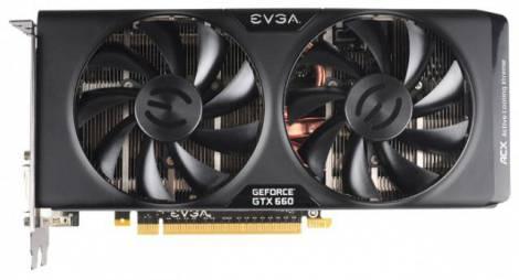 Видеокарта EVGA GeForce GTX 660 (980МГц, GDDR5 2048Мб 6008МГц 192 бит)