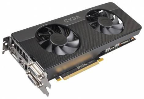 Видеокарта EVGA GeForce GTX 660 Ti (1046МГц, GDDR5 2048Мб 6008МГц 192 бит)