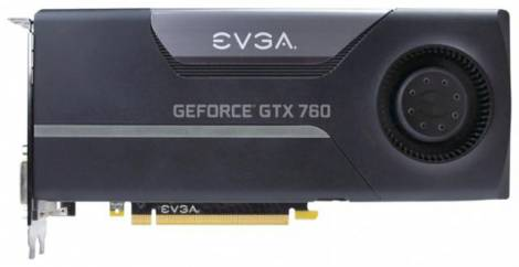Видеокарта EVGA GeForce GTX 760 (980МГц, GDDR5 2048Мб 6008МГц 256 бит)