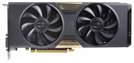 Видеокарта EVGA GeForce GTX 770 (1046МГц, GDDR5 2048Мб 7010МГц 256 бит)