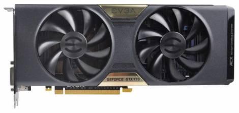 Видеокарта EVGA GeForce GTX 770 (1046МГц, GDDR5 4096Мб 7010МГц 256 бит)
