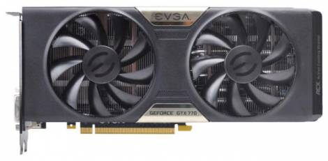 Видеокарта EVGA GeForce GTX 770 (1084МГц, GDDR5 2048Мб 6208МГц 256 бит)