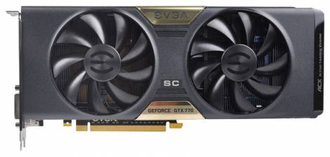 Видеокарта EVGA GeForce GTX 770 (1111МГц, GDDR5 2048Мб 7010МГц 256 бит)