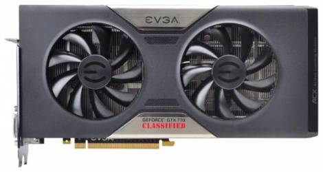 Видеокарта EVGA GeForce GTX 770 (1150МГц, GDDR5 2048Мб 7010МГц 256 бит)