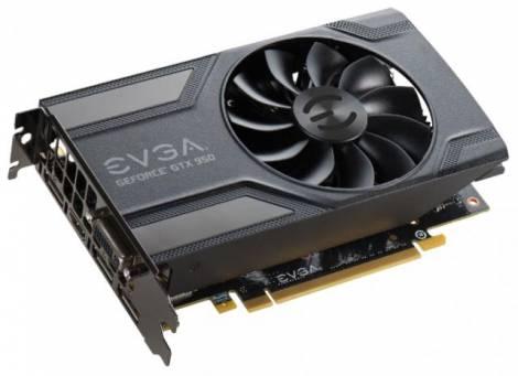 Видеокарта EVGA GeForce GTX 950 (1152МГц, GDDR5 2048Мб 6610МГц 128 бит)