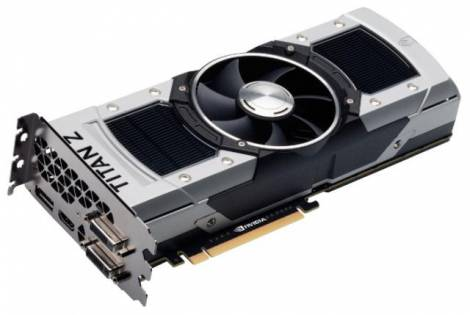 Видеокарта EVGA GeForce GTX TITAN Z (705МГц, GDDR5 12288Мб 70000МГц 768 бит)