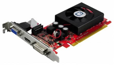 Видеокарта Gainward GeForce GT 520 (810МГц, GDDR3 1024Мб 1070МГц 64 бит)
