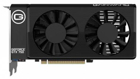 Видеокарта Gainward GeForce GTX 750 (1085МГц, GDDR5 1024Мб 5100МГц 128 бит)