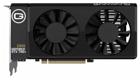 Видеокарта Gainward GeForce GTX 750 Ti (1202МГц, GDDR5 2048Мб 6008МГц 128 бит)