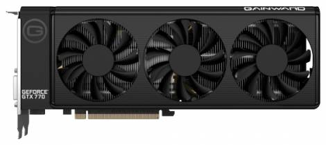 Видеокарта Gainward GeForce GTX 770 (1046МГц, GDDR5 2048Мб 7010МГц 256 бит)