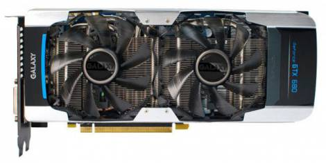 Видеокарта Galaxy GeForce GTX 680 (1110МГц, GDDR5 4096Мб 6008МГц 256 бит)