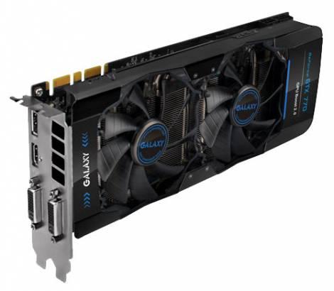 Видеокарта Galaxy GeForce GTX 770 (1110МГц, GDDR5 2048Мб 7010МГц 256 бит)