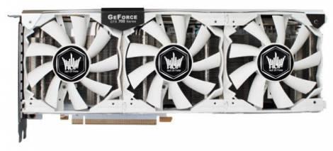 Видеокарта Galaxy GeForce GTX 770 (1202МГц, GDDR5 2048Мб 7010МГц 256 бит)