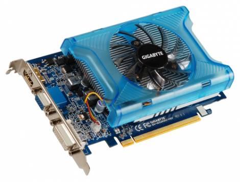 Видеокарта GIGABYTE GeForce GT 220 (625МГц, GDDR2 1024Мб 800МГц 128 бит)