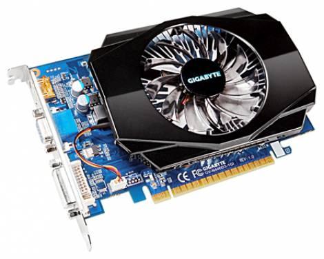 Видеокарта GIGABYTE GeForce GT 440 (830МГц, GDDR5 512Мб 3200МГц 128 бит)