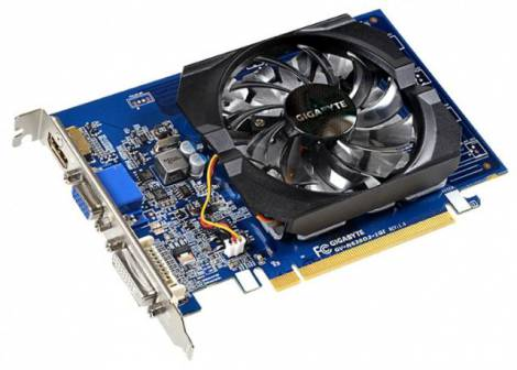 Видеокарта GIGABYTE GeForce GT 630 (902МГц, GDDR3 1024Мб 1800МГц 64 бит)