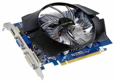 Видеокарта GIGABYTE GeForce GT 640 (1046МГц, GDDR5 1024Мб 5000МГц 64 бит)