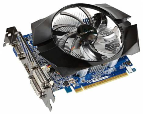 Видеокарта GIGABYTE GeForce GT 640 (1046МГц, GDDR5 1024Мб 5000МГц 128 бит)
