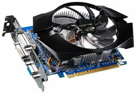 Видеокарта GIGABYTE GeForce GT 640 (941МГц, GDDR3 2048Мб 1800МГц 128 бит)