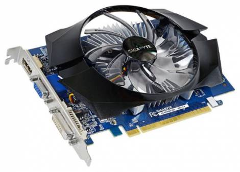 Видеокарта GIGABYTE GeForce GT 730 (902МГц, GDDR5 2048Мб 5000МГц 64 бит)
