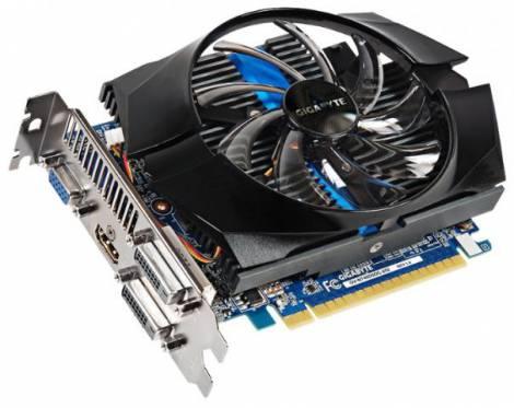 Видеокарта GIGABYTE GeForce GT 740 (1072МГц, GDDR5 2048Мб 5000МГц 128 бит)