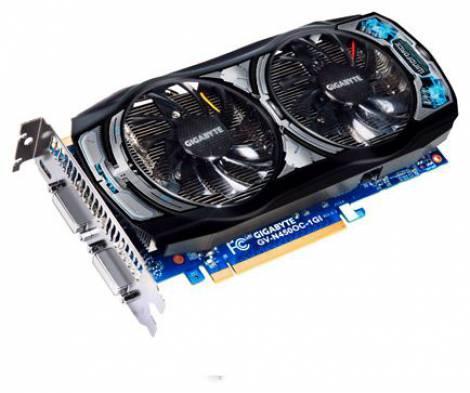 Видеокарта GIGABYTE GeForce GTS 450 (830МГц, GDDR5 1024Мб 3608МГц 128 бит)
