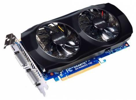 Видеокарта GIGABYTE GeForce GTX 460 (715МГц, GDDR5 1024Мб 3600МГц 256 бит)