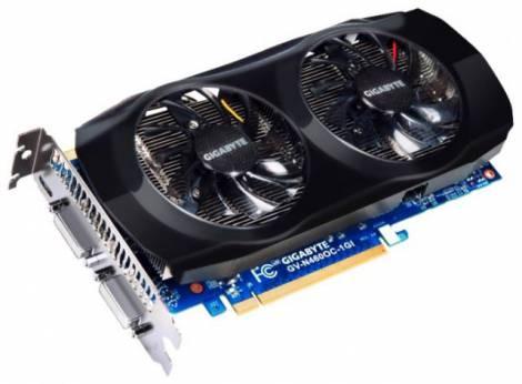 Видеокарта GIGABYTE GeForce GTX 460 v2 (788МГц, GDDR5 1024Мб 4008МГц 192 бит)