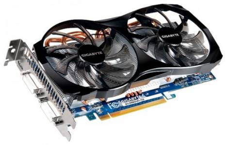 Видеокарта GIGABYTE GeForce GTX 560 (810МГц, GDDR5 1024Мб 4008МГц 256 бит)
