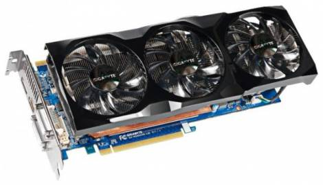 Видеокарта GIGABYTE GeForce GTX 560 Ti (732МГц, GDDR5 1280Мб 3800МГц 320 бит)