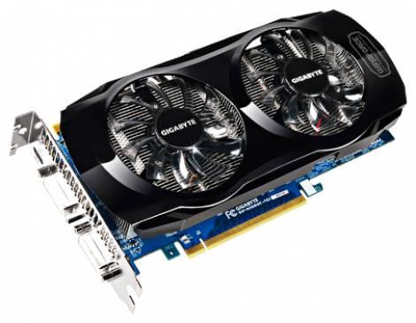 Видеокарта GIGABYTE GeForce GTX 560 Ti (900МГц, GDDR5 1024Мб 4000МГц 256 бит)