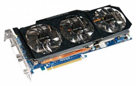 Видеокарта GIGABYTE GeForce GTX 580 (855МГц, GDDR5 1536Мб 4100МГц 384 бит)
