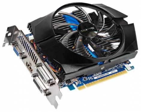 Видеокарта GIGABYTE GeForce GTX 650 (1110МГц, GDDR5 4096Мб 5000МГц 128 бит)