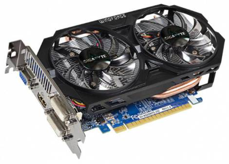 Видеокарта GIGABYTE GeForce GTX 650 (1110МГц, GDDR5 2048Мб 5000МГц 128 бит)