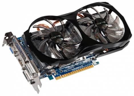 Видеокарта GIGABYTE GeForce GTX 650 Ti (1032МГц, GDDR5 2048Мб 5400МГц 128 бит)