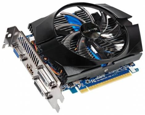 Видеокарта GIGABYTE GeForce GTX 650 Ti (1032МГц, GDDR5 1024Мб 5400МГц 128 бит)