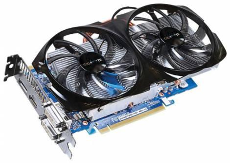Видеокарта GIGABYTE GeForce GTX 650 Ti Boost (1032МГц, GDDR5 1024Мб 5000МГц 192 бит)