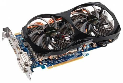 Видеокарта GIGABYTE GeForce GTX 650 Ti Boost (1032МГц, GDDR5 2048Мб 6008МГц 192 бит)