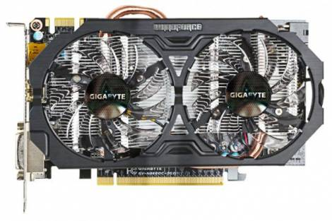 Видеокарта GIGABYTE GeForce GTX 660 (1033МГц, GDDR5 3072Мб 6008МГц 192 бит)